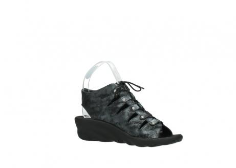 wolky sandalen 3126 arena 100 zwart antraciet geborsteld nubuck_15