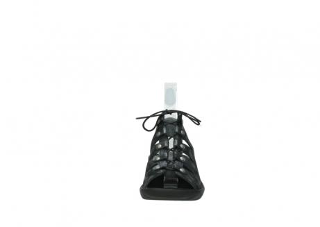 wolky sandalen 3126 arena 100 zwart antraciet geborsteld nubuck_19