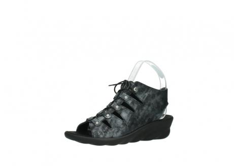 wolky sandalen 3126 arena 100 zwart antraciet geborsteld nubuck_23