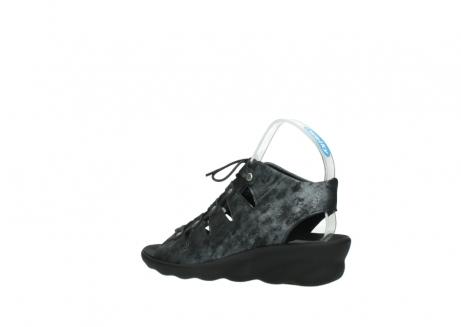 wolky sandalen 3126 arena 100 zwart antraciet geborsteld nubuck_3
