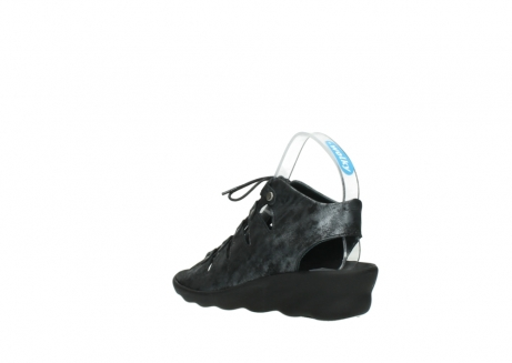 wolky sandalen 3126 arena 100 zwart antraciet geborsteld nubuck_4