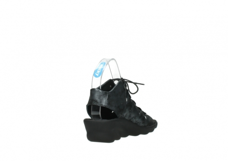 wolky sandalen 3126 arena 100 zwart antraciet geborsteld nubuck_9