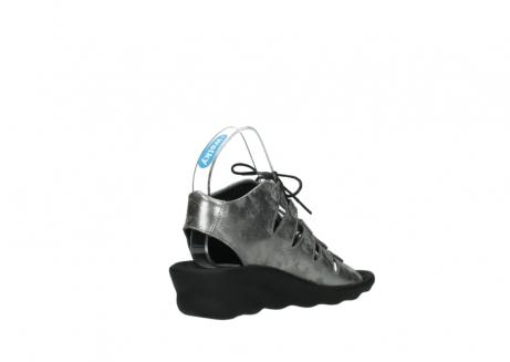 wolky sandalen 3126 arena 120 grijs zilver nubuck_10