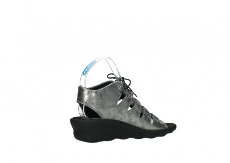 wolky sandalen 3126 arena 120 grijs zilver nubuck_11