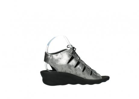 wolky sandalen 3126 arena 120 grijs zilver nubuck_12