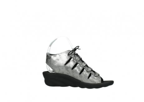 wolky sandalen 3126 arena 120 grijs zilver nubuck_14
