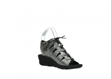 wolky sandalen 3126 arena 120 grijs zilver nubuck_16