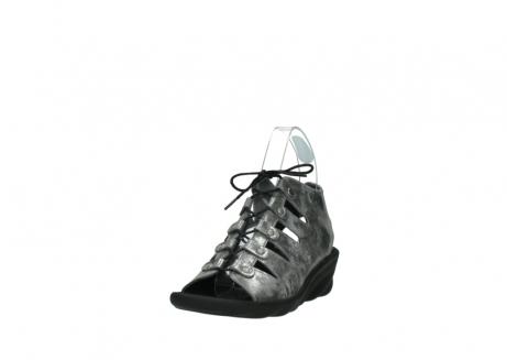 wolky sandalen 3126 arena 120 grijs zilver nubuck_21