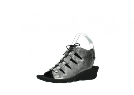 wolky sandalen 3126 arena 120 grijs zilver nubuck_23