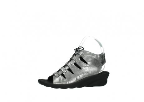 wolky sandalen 3126 arena 120 grijs zilver nubuck_24