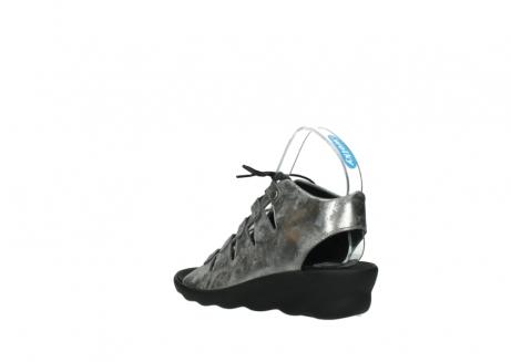 wolky sandalen 3126 arena 120 grijs zilver nubuck_4