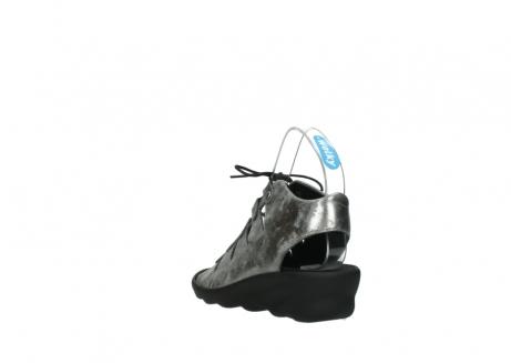 wolky sandalen 3126 arena 120 grijs zilver nubuck_5