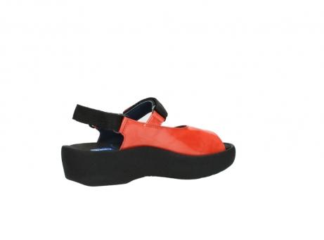 wolky sandalen 3204 jewel 653 korallenrot lackleder_11