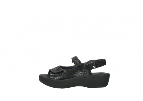 wolky sandalen 3204 jewel 700 zwart canals_1