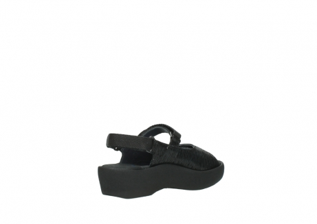 wolky sandalen 3204 jewel 700 zwart canals_10