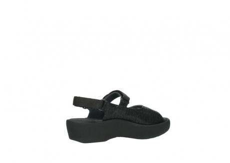 wolky sandalen 3204 jewel 700 zwart canals_11