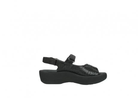 wolky sandalen 3204 jewel 700 zwart canals_13