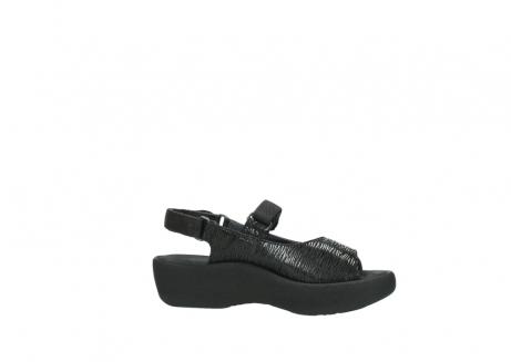 wolky sandalen 3204 jewel 700 zwart canals_14