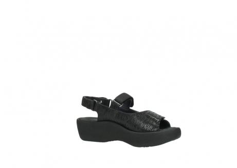 wolky sandalen 3204 jewel 700 zwart canals_15