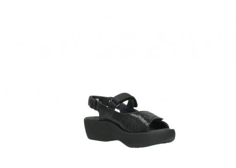 wolky sandalen 3204 jewel 700 zwart canals_16