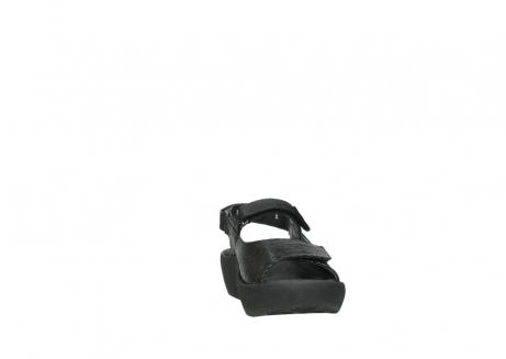 wolky sandalen 3204 jewel 700 zwart canals_18