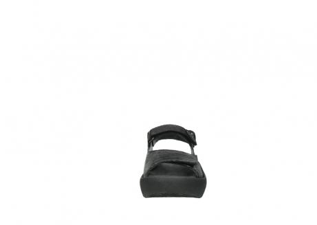 wolky sandalen 3204 jewel 700 zwart canals_19