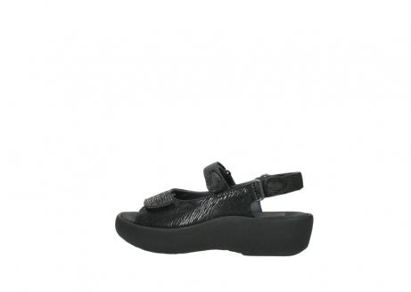 wolky sandalen 3204 jewel 700 zwart canals_2