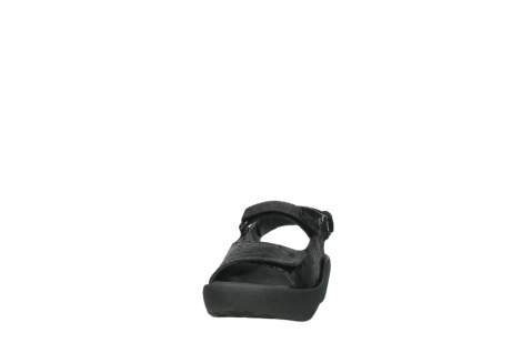wolky sandalen 3204 jewel 700 zwart canals_20