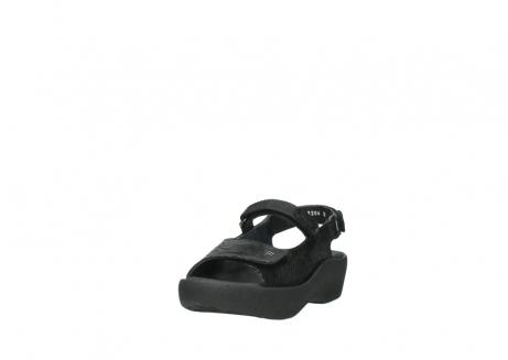 wolky sandalen 3204 jewel 700 zwart canals_21