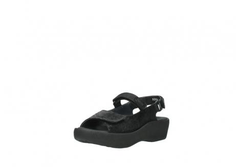 wolky sandalen 3204 jewel 700 zwart canals_22