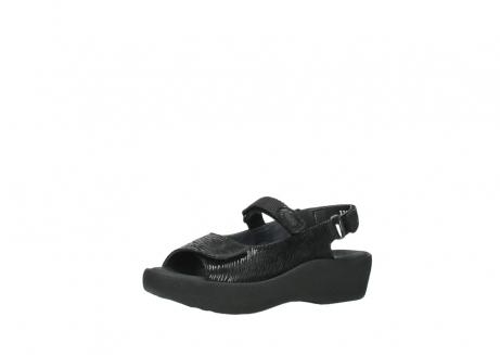 wolky sandalen 3204 jewel 700 zwart canals_23