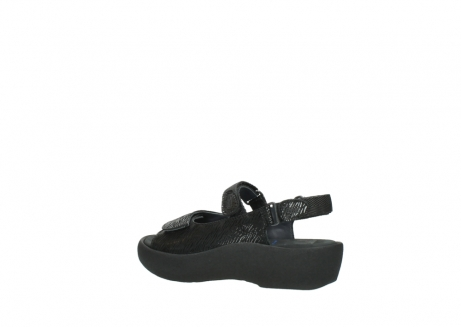 wolky sandalen 3204 jewel 700 zwart canals_3