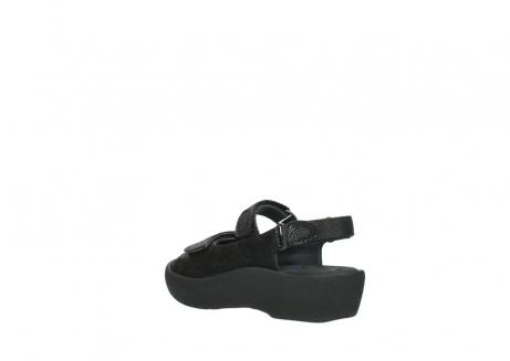 wolky sandalen 3204 jewel 700 zwart canals_4