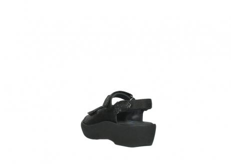 wolky sandalen 3204 jewel 700 zwart canals_5