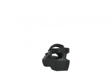 wolky sandalen 3204 jewel 700 zwart canals_6