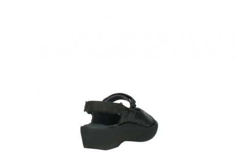 wolky sandalen 3204 jewel 700 zwart canals_9