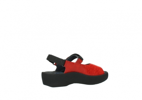 wolky sandalen 3204 jewel 750 rood canals_11
