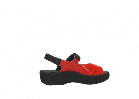 wolky sandalen 3204 jewel 750 rood canals_12