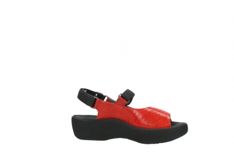 wolky sandalen 3204 jewel 750 rood canals_14