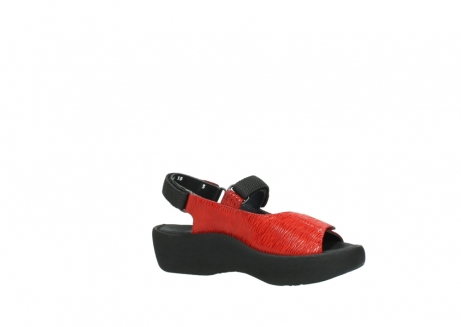 wolky sandalen 3204 jewel 750 rood canals_15