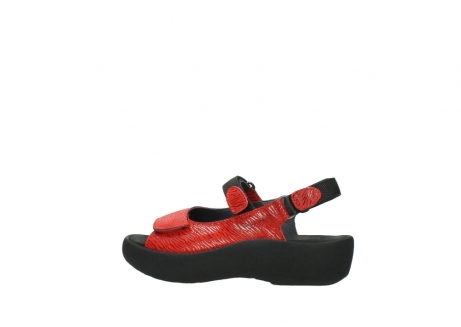wolky sandalen 3204 jewel 750 rood canals_2