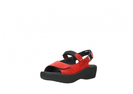 wolky sandalen 3204 jewel 750 rood canals_22