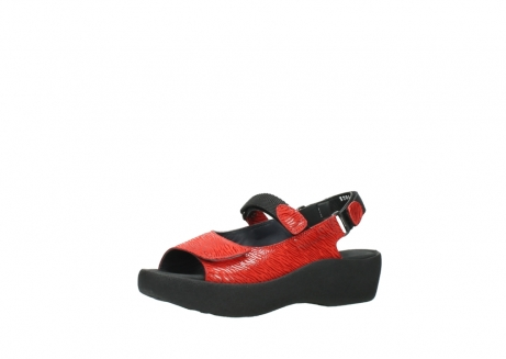 wolky sandalen 3204 jewel 750 rood canals_23