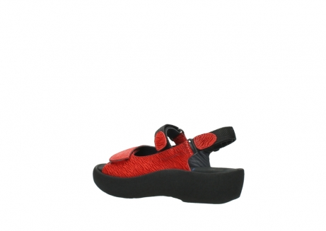 wolky sandalen 3204 jewel 750 rood canals_3