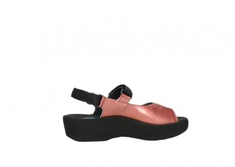 wolky sandalen 3204 jewel 853 koraal rood lakleer_12