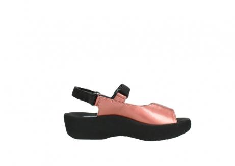 wolky sandalen 3204 jewel 853 koraal rood lakleer_13