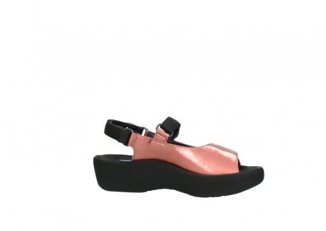 wolky sandalen 3204 jewel 853 koraal rood lakleer_14