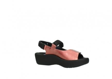 wolky sandalen 3204 jewel 853 koraal rood lakleer_15