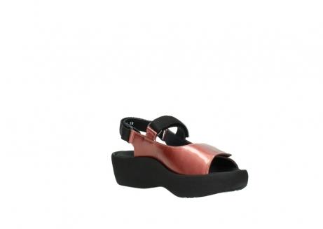 wolky sandalen 3204 jewel 853 koraal rood lakleer_16
