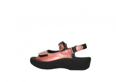 wolky sandalen 3204 jewel 853 koraal rood lakleer_2